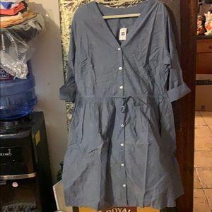 Gap chambray dress - plus size
